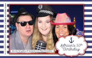 adrians 50th birthday party sample image