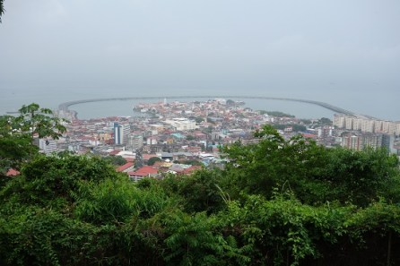 View of Casco Antiguo from Ancon Hill