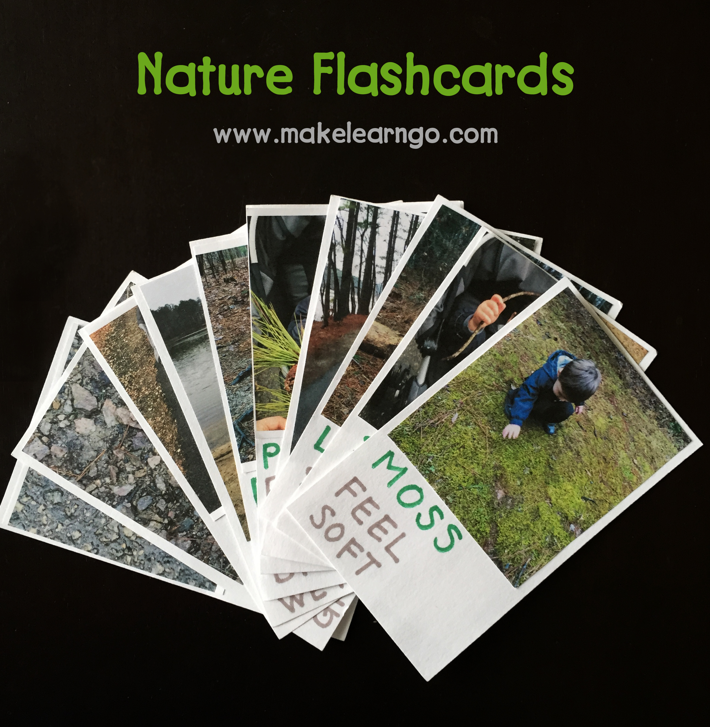 Nature Walk Amp Flashcards For Toddlers