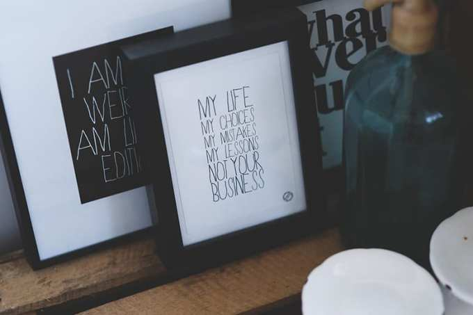 sentence frames - Εσωτερική διακόσμηση του σπιτιού με οικονομική διάθεση