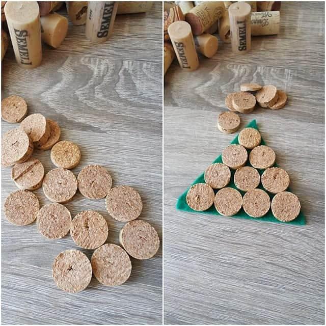 cork ornaments - Εναλλακτικά Χριστουγεννιάτικα στολίδια από φελλό