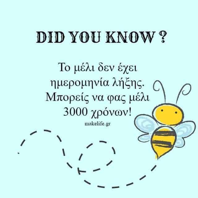Μέλι και Ημερομηνία Λήξης
