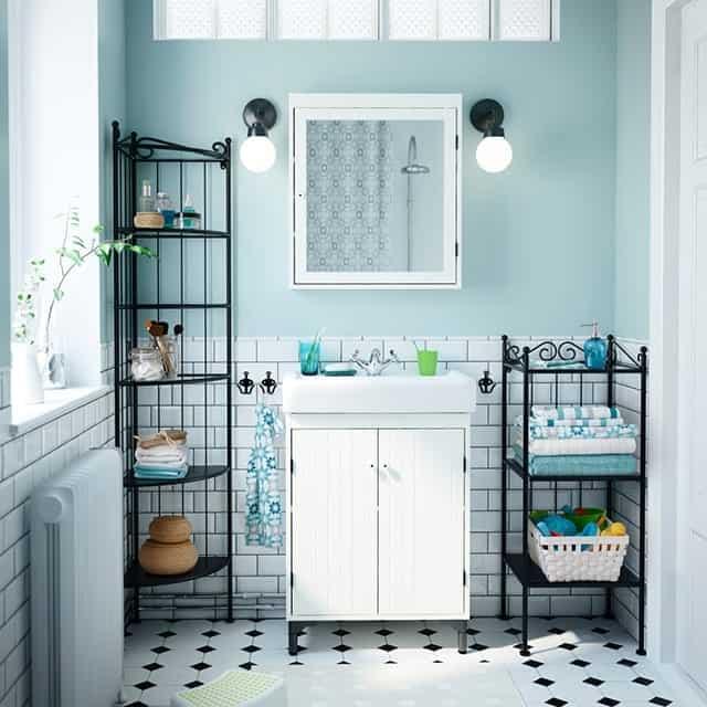 Bathroom Ikea ideas - 8+1 ιδέες για Οργάνωση Σπιτιού με Προϊόντα ΙΚΕΑ