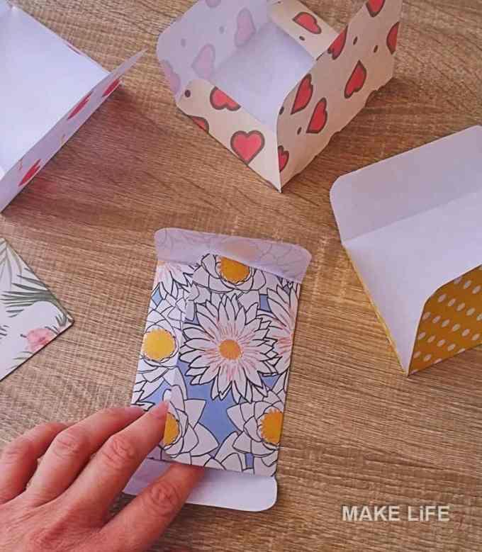 Tiny Envelopes Tutorial - Φτιάξε μόνος σου χάρτινα φακελάκια. 6 πατρόν για εκτύπωση