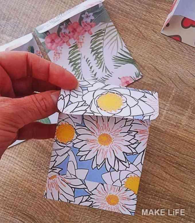 diy tiny envelopes - Φτιάξε μόνος σου χάρτινα φακελάκια. 6 πατρόν για εκτύπωση