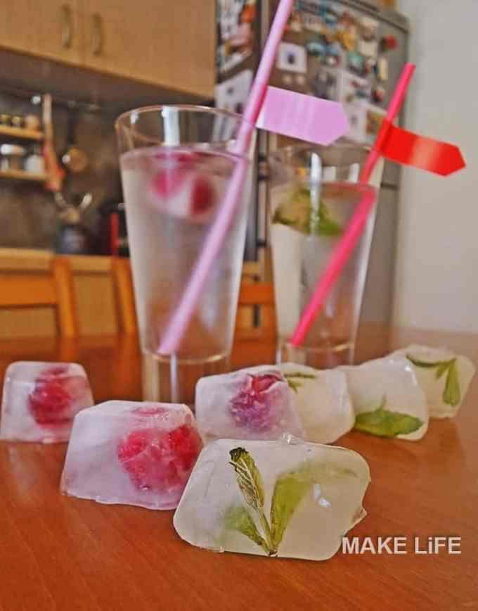 FLAVOUR ICE CUBES - Παγάκια με γεύσεις για τα καλοκαιρινά μας ροφήματα