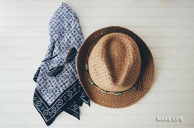 SUMMER HAT SUN PROTECTION - Πως προστατεύω τα μαλλιά από τον ήλιο και τη θάλασσα