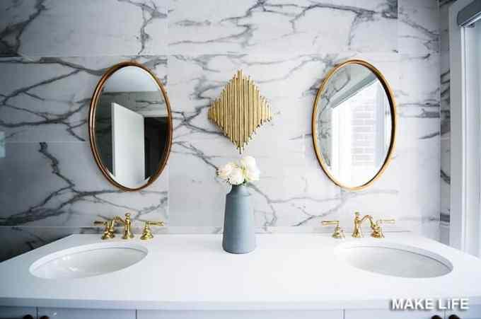 MIRROR BATHROOM - 7 ιδέες για την ανανέωση του μπάνιου με ελάχιστα χρήματα