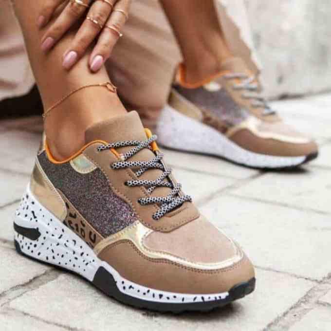 Sneakers Sahara Bronze
