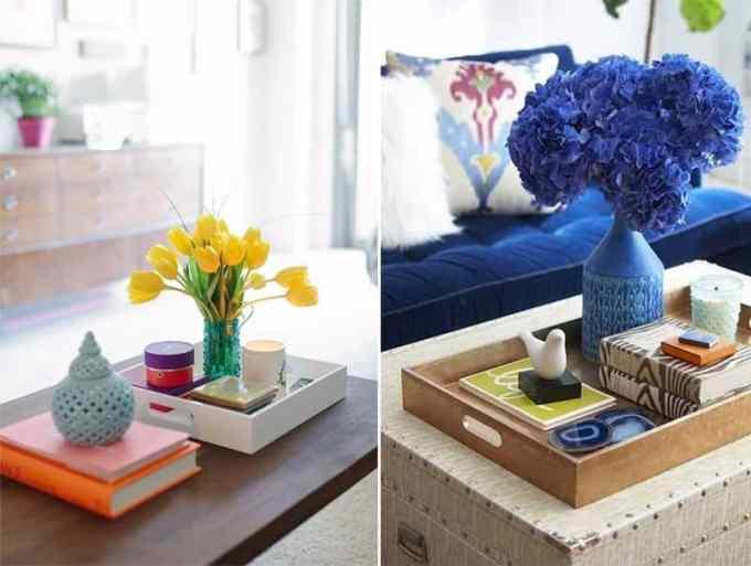 coffee table decoration ideas - Πως να διακοσμήσεις το τραπεζάκι σαλονιού με 4 απλές κινήσεις