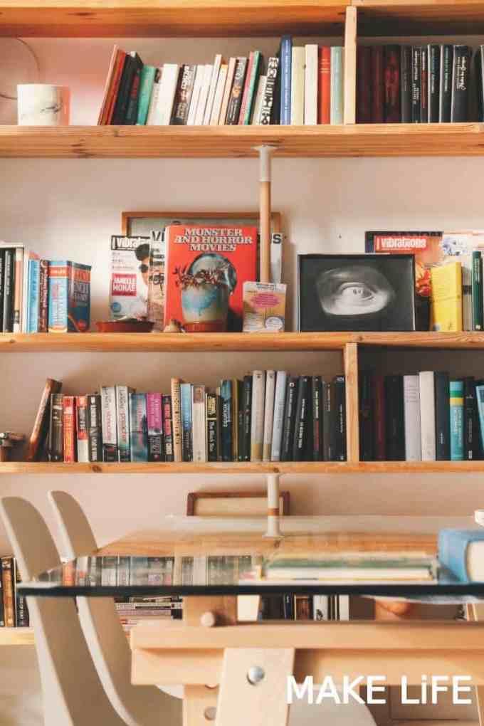 bookshelves at home - Ιδέες για αποθήκευση βιβλίων και πως να διακοσμήσεις τα ράφια σου