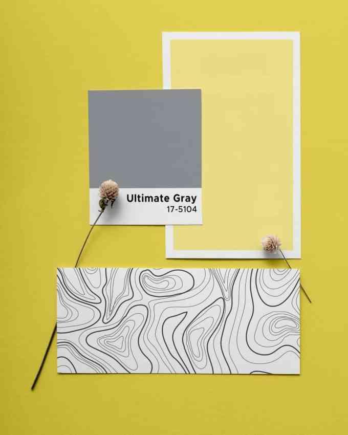 PANTONE 17 5104 Ultimate Grey - Το χρώμα της χρονιάς 2021 από την Pantone. Δεν είναι ένα αλλά δύο