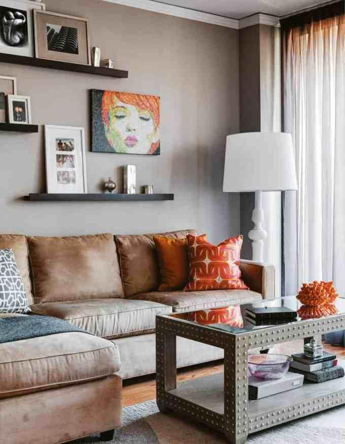 living room wall decor - Διακόσμηση τοίχου πίσω από τον καναπέ. Όλες οι νέες τάσεις