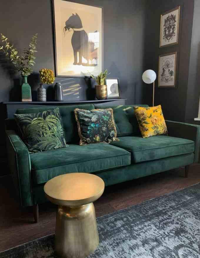 livingroom wall decor 2 - Διακόσμηση τοίχου πίσω από τον καναπέ. Όλες οι νέες τάσεις