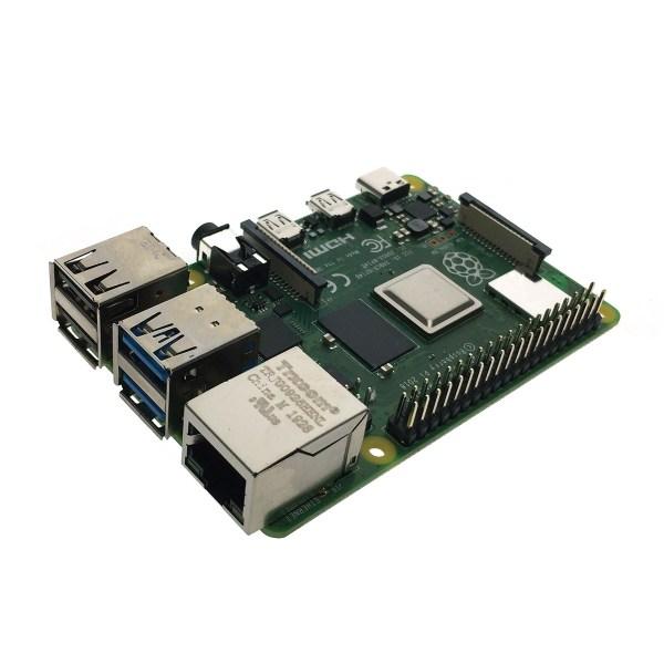 Микрокомпьютер RaspberryPi 4 Model B (2 ГБ памяти)