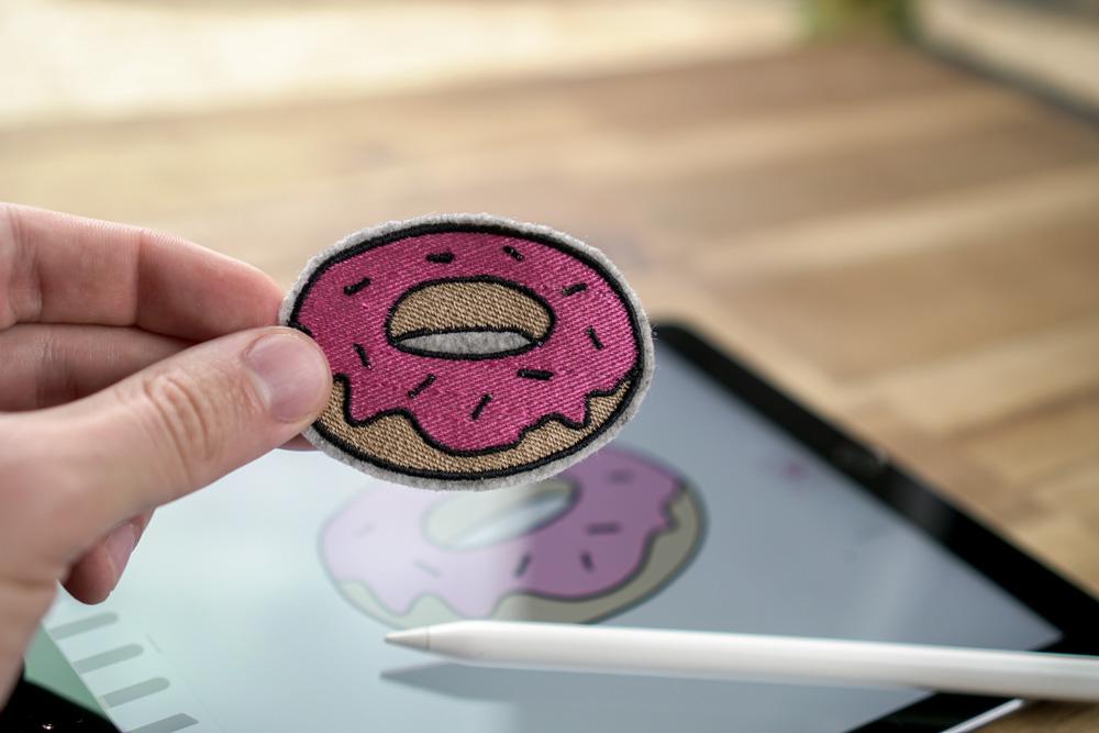 Stickdatei Donut herunterladen