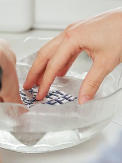 Wasserlösliche Stickfolie in der Anwendung – Madeira Avalon