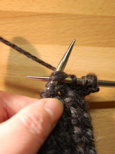 Strickanleitung Schal für Anfänger