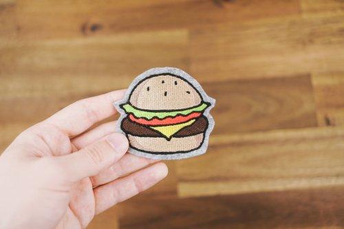 Stickdatei Hamburger