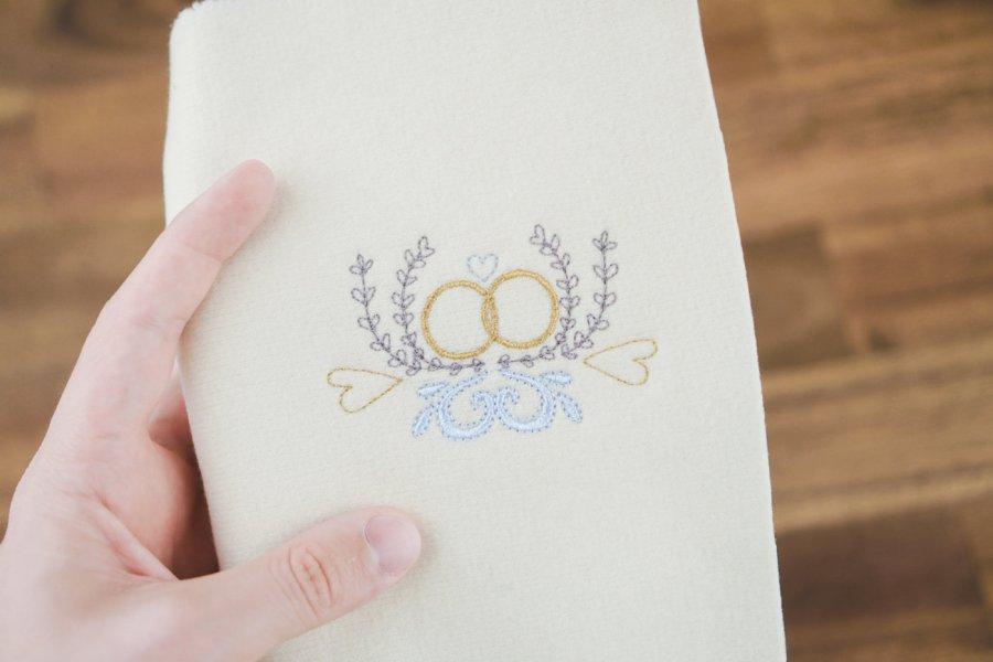 Stickdatei Hochzeitsringe