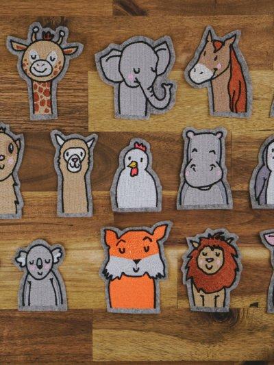 kostenlose Stickdateien Tiere (Umfangreiches SET)