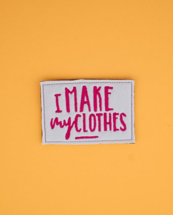Stickdatei »I make my clothes«