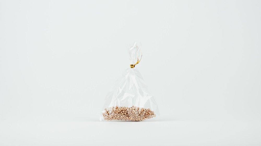 Perlen gold Roccaille