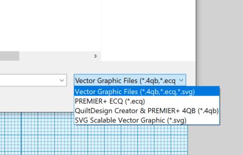 Dateiformat zum Import in Sticksoftware ECQ