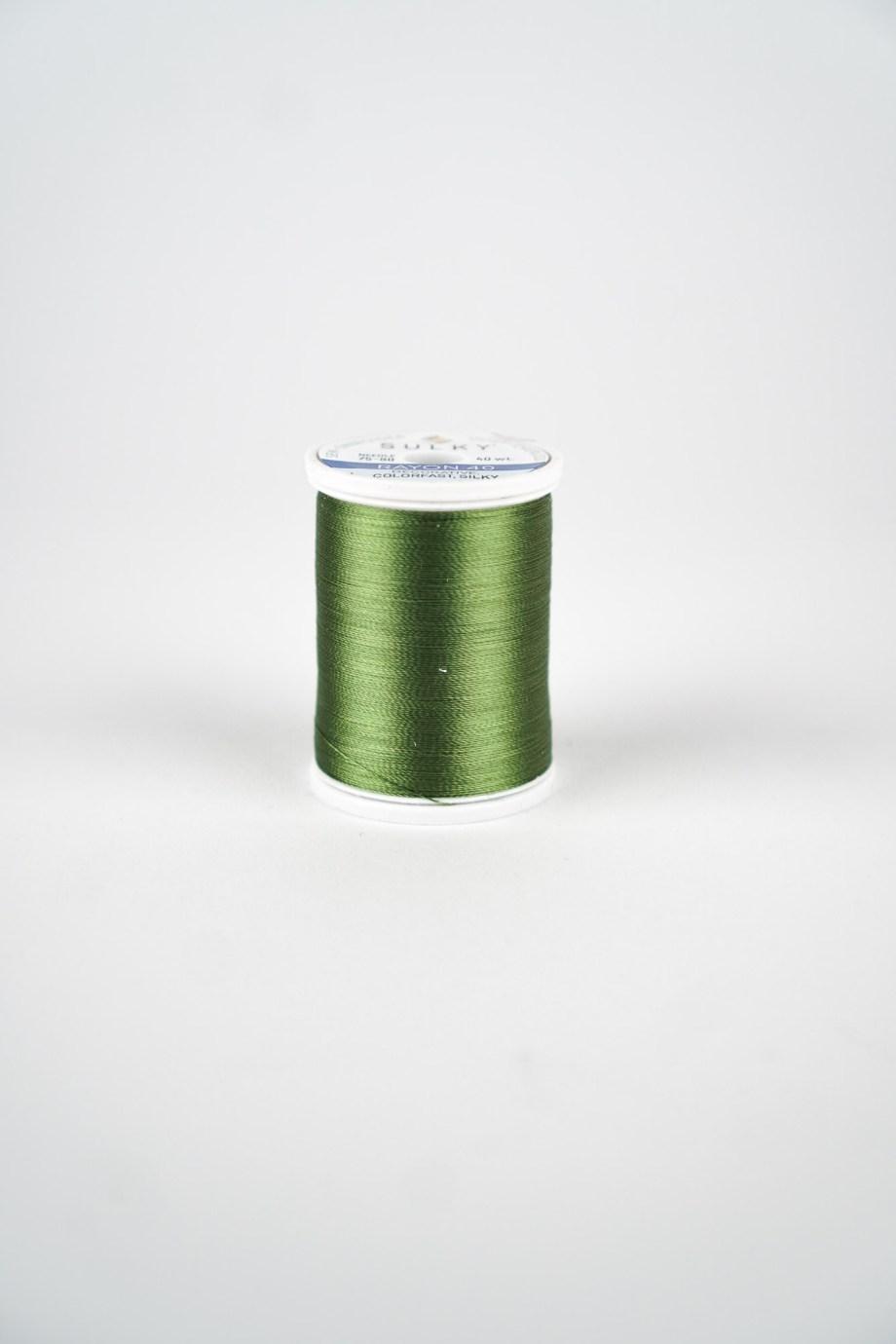 Stickgarn Grün