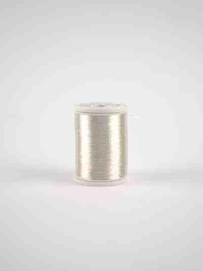 metallicgarn silber