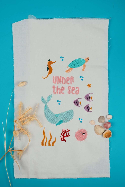 Aquarium Stickdateien Unterwasser