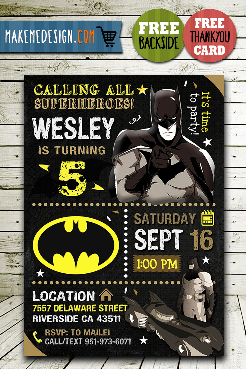 batman invitations printables batman invite batman birthday party batman printable diy