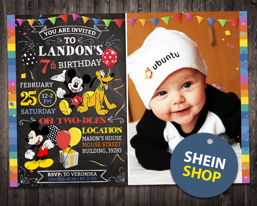 mickey mouse invitation with picture mickey mouse invite mickey mouse birthday party mickey mouse printable mickey mouse card diy