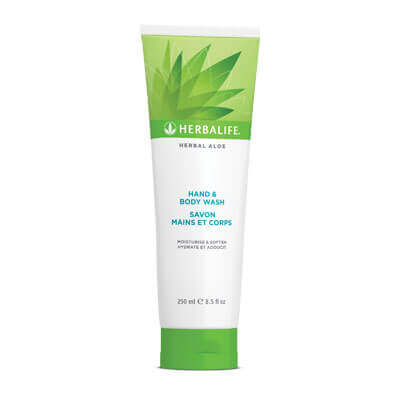 Herbalife Herbal Aloe Hand & Body Wash 250ml