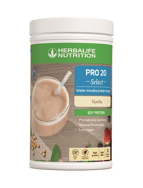 Herbalife Pro 20 Select - Water Mixable Protein Shake