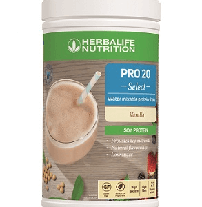 Herbalife Pro 20 Select - Water Mixable Protein Shake 6