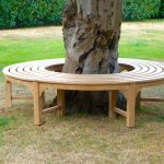 Engraved Wooden Circular Bench Makemesomethingspecial Com