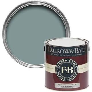 Oval Room Blue Paint