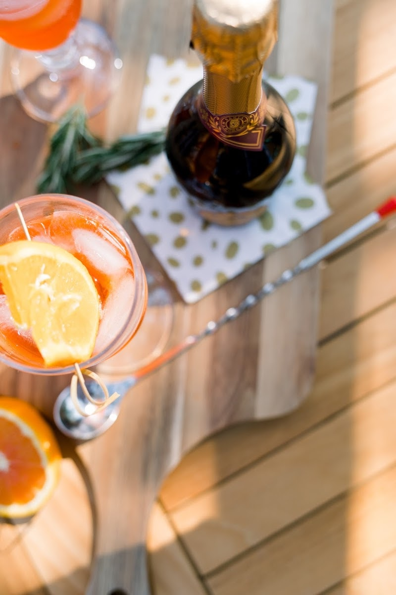 Aperol Spritz and Prosecco