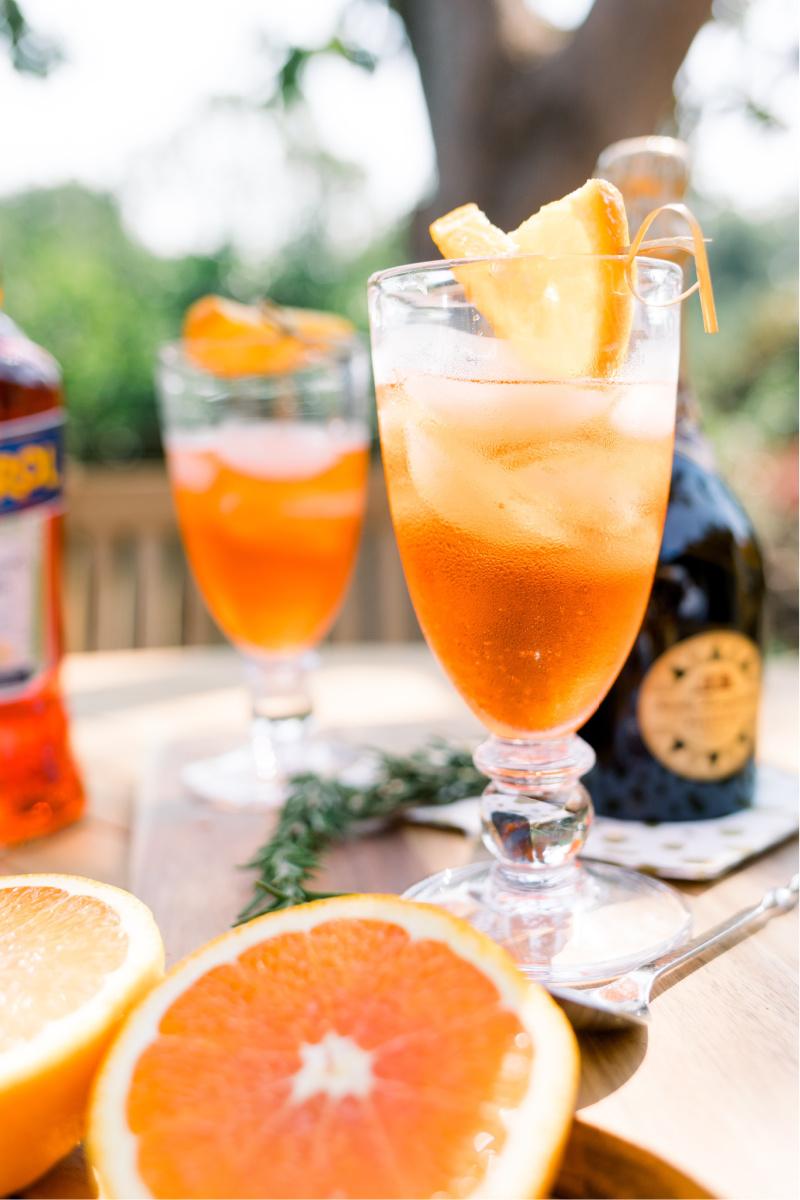 Aperol Spritz Drink