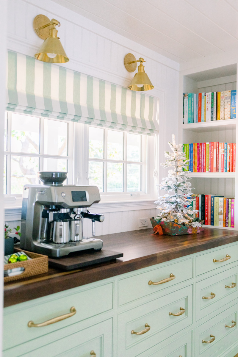 Kitchen Buffet and Coffee Station