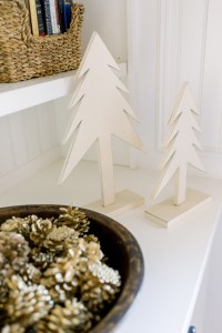 Christmas Stocking and Shelf Decorations