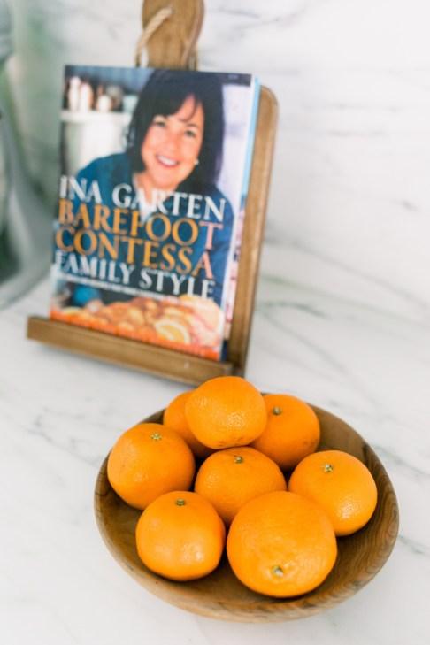 Cookbook and Oranges