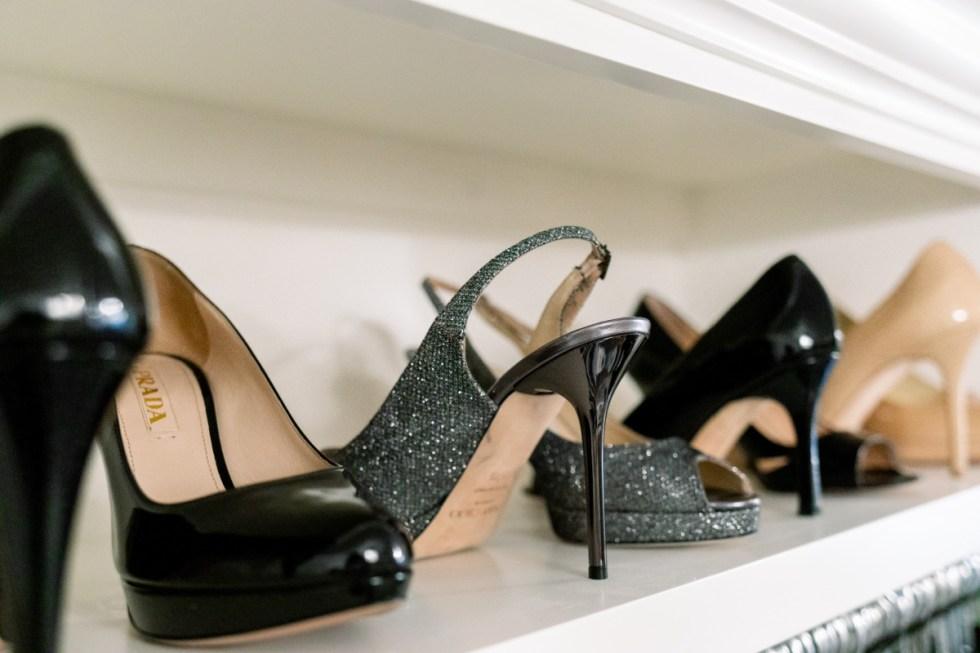 High Heels on a Shelf