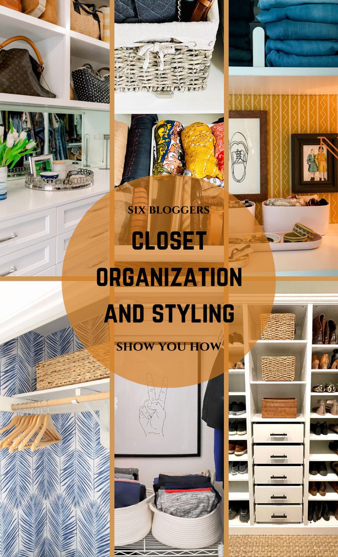 Closet Organization Collage