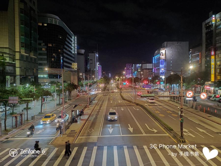 zenfone 6 相機拍攝街景照