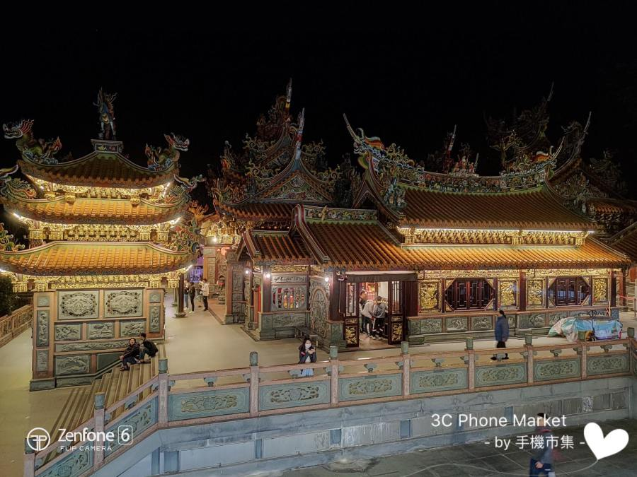 zenfone 6 相機拍攝夜晚景象照