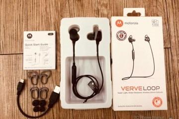 【開箱】 Motorola VERVE LOOP後頸式立體聲藍牙耳機