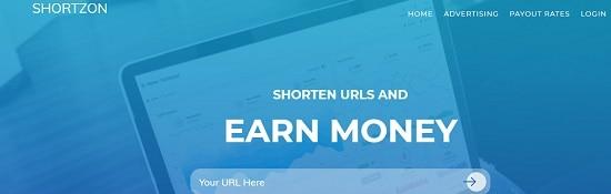 shortzon.com url shortener - مواقع اختصار الروابط 5 من افضل مواقع اختصار الروابط الربحية