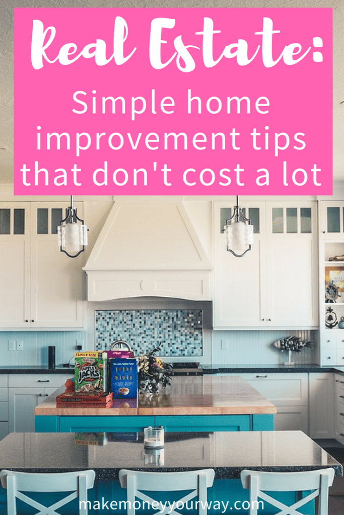 Real Estate Simple Home Improvement Tips That Dont Cos